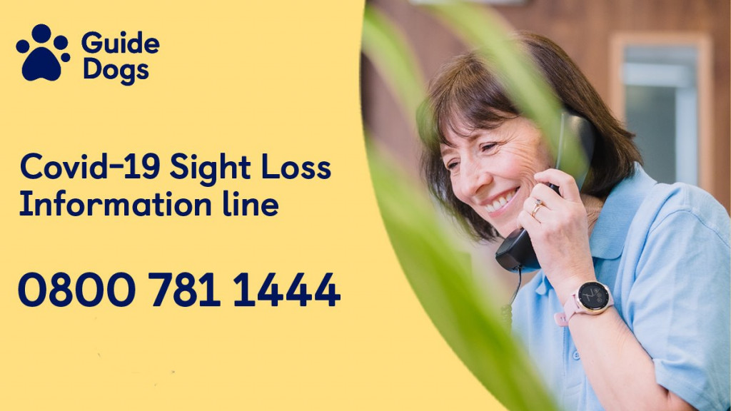 Guide Dogs Coronavirus Information Telephone Line