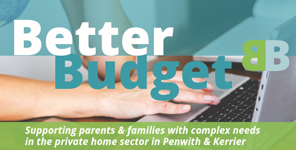 Better Budget: a pilot study aimed at families in Penwith and Kerrier